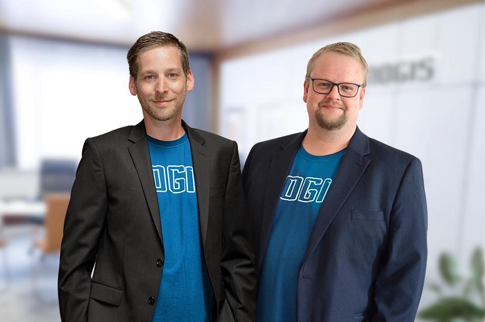 NOGIS - Geschäftsführer Thomas Höffinger & Andreas Hackl (Quelle: nogis.at Website)